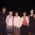 From L to R: Pete Coe, Jessie Hall, Ruth Trousdale, Edna Lolley, Alice Jones
