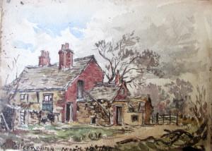 Frank Kidson Watercolour 7