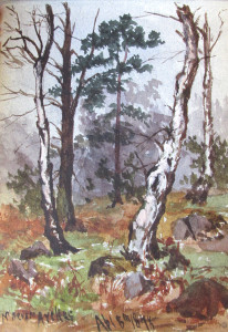 Frank Kidson Watercolour 5