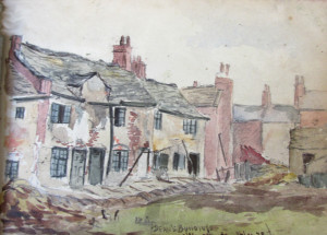 Frank Kidson Watercolour 4