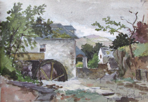 Frank Kidson Watercolour 1
