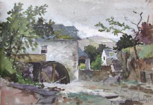 Frank Kidson Watercolour 1