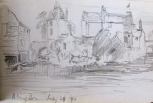 Frank Kidson Sketch 3