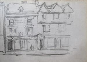 Frank Kidson Sketch 2