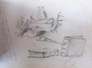 Frank Kidson Sketch 1